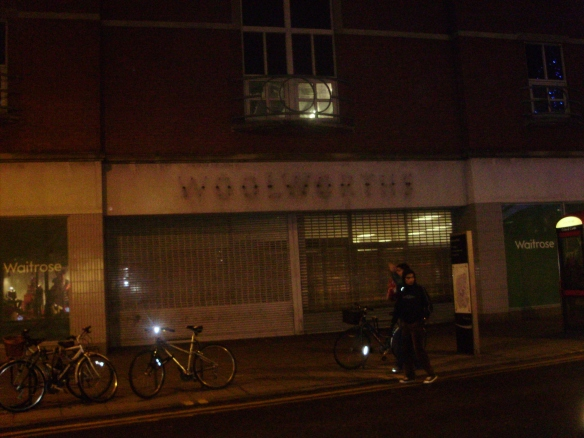 Woolworths out of business