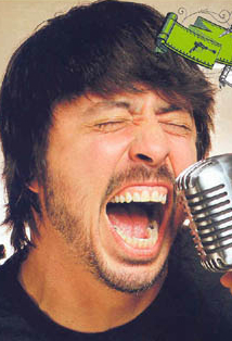 dave grohl scream shout
